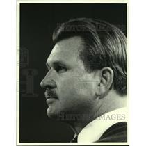 Press Photo Chicago Bears football coach Mike Ditka - sas06338