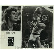 Press Photo Phoenix Suns basketball center Dennis Awtrey - sas06468