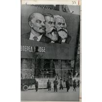 1966 Press Photo Communist Day honors Soviet Hereos - RRX70029