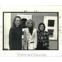 1992 Press Photo Activist Joyce Menschel, Sybil Favrot & Margaret Pace Willson
