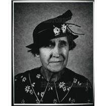 1939 Press Photo Portrait of Mrs. Herman Bogenschneider Bandlow from 1939.