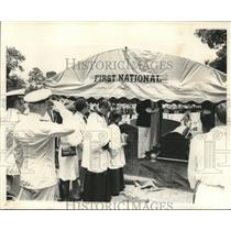 Press Photo First National - funeral - nob03929