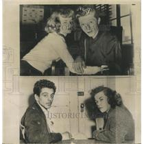 1953 Press Photo Dope victims Donald R. Bachtold & wif - RRW49443