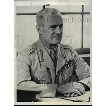 1942 Press Photo Gen Archibald Wavell Placed in Command of Pacific War Area