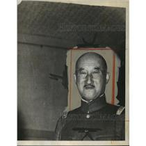 1944 Press Photo General Terauchi in military uniform - nem53750