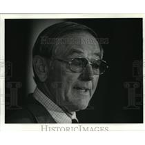 1983 Press Photo Bill Arnsparger, Head Football Coach, New York Giants