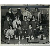 1975 Press Photo Here are the 1975 City Wrestling champions. - nos02014