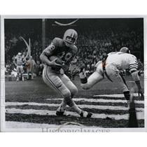 1969 Press Photo John Wright Lions Bears - RRQ02467