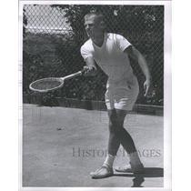 1963 Press Photo Jim Edwards Tennis Player Young - RRQ05017