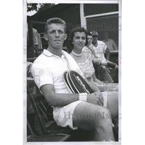 1954 Press Photo Tony Trabert Tennis Player - RRQ05355