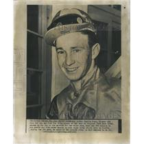 1951 Press Photo Charlie Burr Jockey at Age 17 - RRQ04011