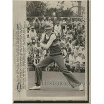 1973 Press Photo Carol Mann American professional golf - RRQ03571