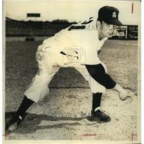 1941 Press Photo Bill Elbert, Baseball Pitcher - sas08801