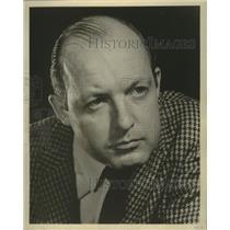 1961 Press Photo Actor John Scanlan of Milwaukee - mjb97563
