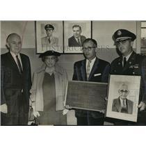 1957 Press Photo Martin Air National Guard station dedication, Gadsden, Alabama