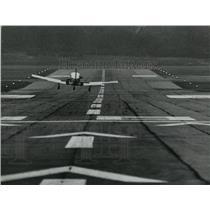1977 Press Photo Birmingham, Alabama, The short North-South Runway - abna20627