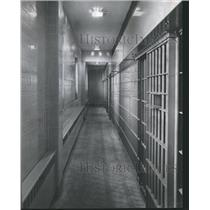 1960 Press Photo New jail in Bessemer, Alabama Courthouse has three prison cells