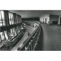 1976 Press Photo New Birmingham, Alabama Municipal Airport Terminal - abna25831
