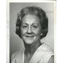 1970 Press Photo Mrs. Frieda Coggin, Alabama Bureau of Publicity & Information
