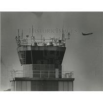 1981 Press Photo Birmingham, Alabama Airports: Municipal Control Tower