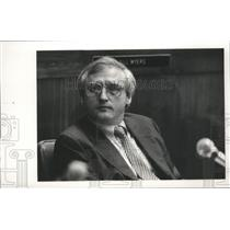 1986 Press Photo Birmingham, Alabama Airport Authority John McMahon - abna27004