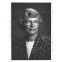 1989 Press Photo Nancy Batson Crews, Alabama Aviation Hall of Fame - abna27606