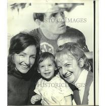 1973 Press Photo Family of James B. Souder in Sunrise Florida - mjc00124