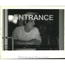 1994 Press Photo Sylvia Galiano, one of the first aboard Boomtown Belle Casino