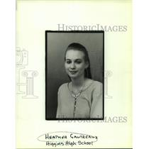 Press Photo Heather Gautreaux of Higgins High School - nob16191