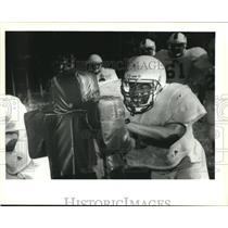 Press Photo Fortier prep player Charles Smith, linebacker - nob19503