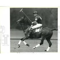 1992 Press Photo Polo - Mayor Ronald Ferguson during St. Tammany Hospice Benefit