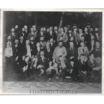 1892 Press Photo The Milwaukee School Board Picnic. - mjx45817