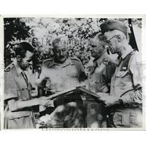 1942 Press Photo Australian troops attend East Coast Troop Maneuvers in the US