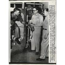1958 Press Photo Space Cabin at School of Aviation Medicine in Randolph Field