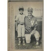 1971 Press Photo Lou Gennet Baseball Little League - RRQ18715