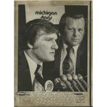 1974 Press Photo Johnny Wilson to Coach Michigan Stags - RRQ18919