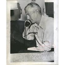 1955 Press Photo New York Giants Manager William Rigney - RRQ19801