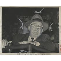 1951 Press Photo Jack Adams,GM,Detroit Red Wings - RRQ20213