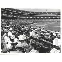 1978 Press Photo Oakland A's Baseball Candlestick Park - RRQ20457