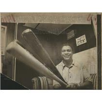 1977 Press Photo Chicago Cubs' Gene Baker - RRQ20607