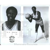 1977 Press Photo Wesley Cox Golden State Warriors NBA - RRQ20747