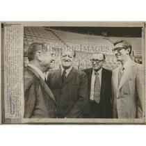 1970 Press Photo St Louis Blues Players News Conf - RRQ21145