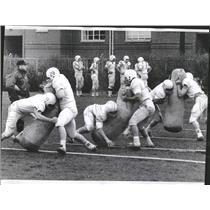 1967 Press Photo Northwestern University Football Coach - RRQ21209