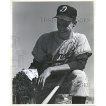 1964 Press Photo Jim Zinck Denver University baseball - RRQ21561