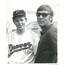 1970 Press Photo Tom Armstrong Univ Denver Baseball - RRQ21617