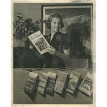 1937 Photo Former National Diving Champ Marian Mansfiel - RRQ21979