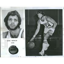 1976 Press Photo Mike Newlin Guard Houston Rockets - RRQ22379