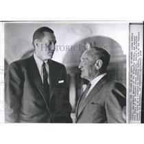 1959 Press Photo John McHale Major League Baseball USA - RRQ22531