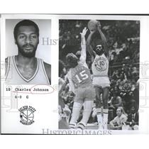 1975 Press Photo Charles Johnson Basketball Player USA - RRQ22699