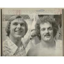 1975 Press Photo Pirates Hebner Moore Defeat Phillies - RRQ22853